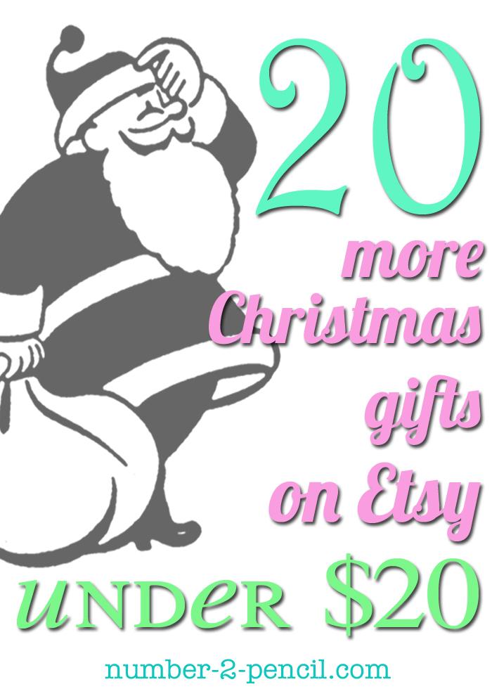 Twenty Christmas Gift Ideas Under Twenty Dollars - No. 2 Pencil