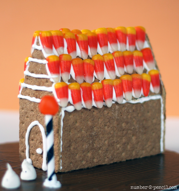 Mini Haunted Gingerbread House