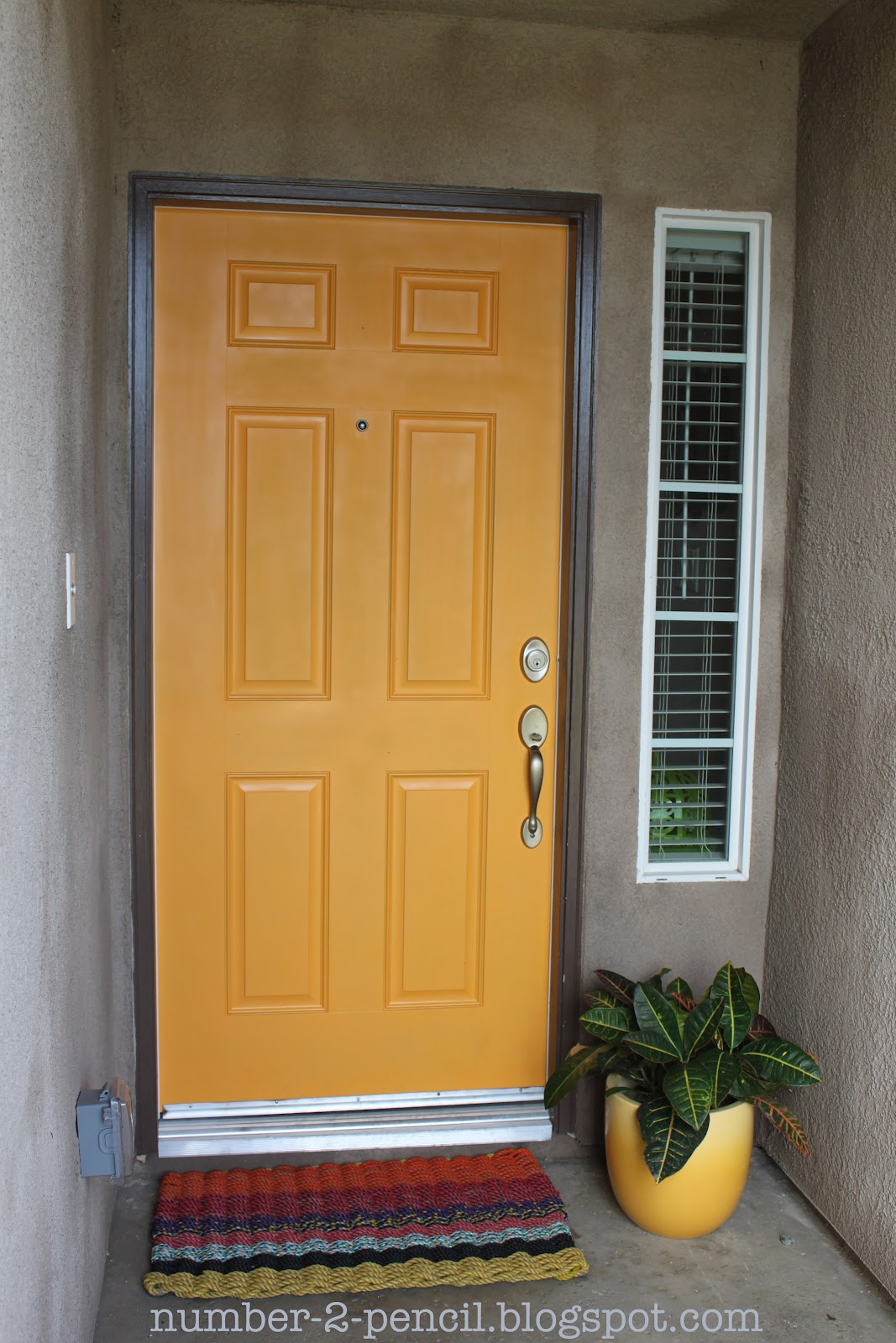 1600 #9C6F2F Spray Paint The Front Door! No. 2 Pencil pic Paint Colors For Front Doors Pictures 48211067