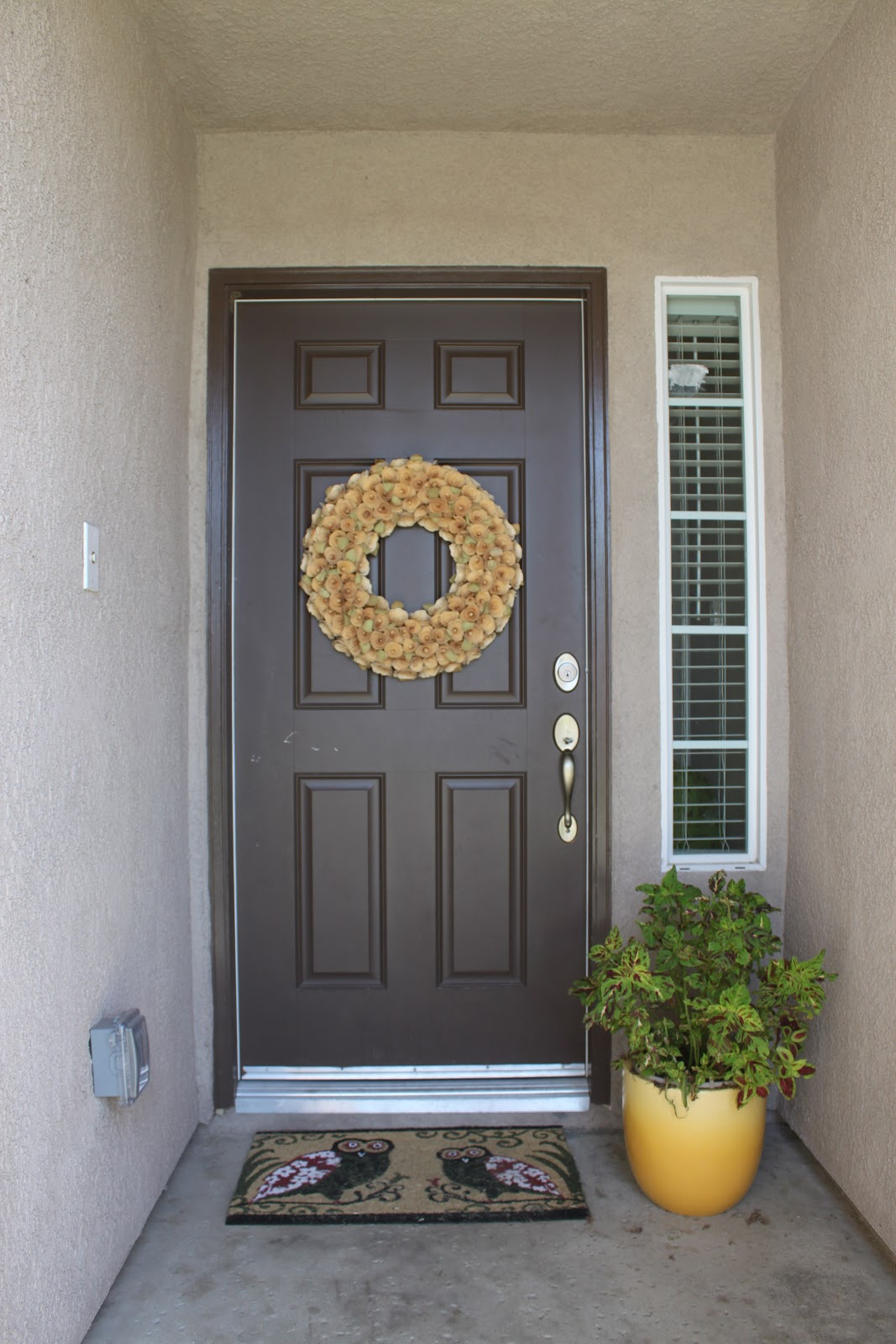 How To Paint A Front Door spray paint the front door! - no. 2 pencil