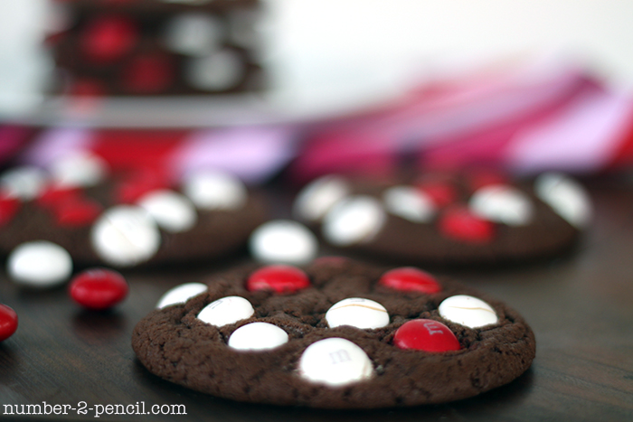 White Chocolate Peppermint M And M Cookies No 2 Pencil
