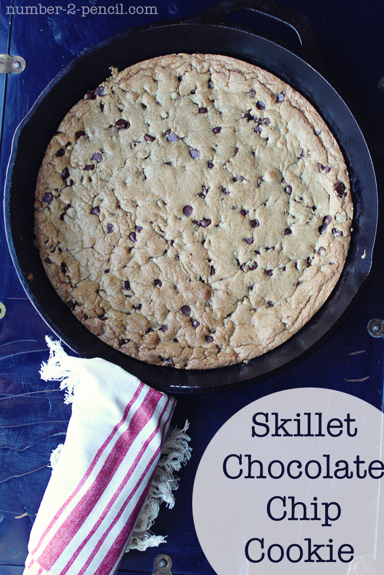 ... skillet chocolate chip cookie this giant chocolate chip cookie baked