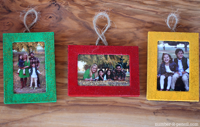 Christmas Ornaments From Dollar Store Picture Frames No 2 Pencil