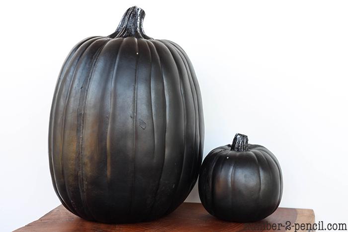 Painted Pumpkins | Faux Bois Pumpkins