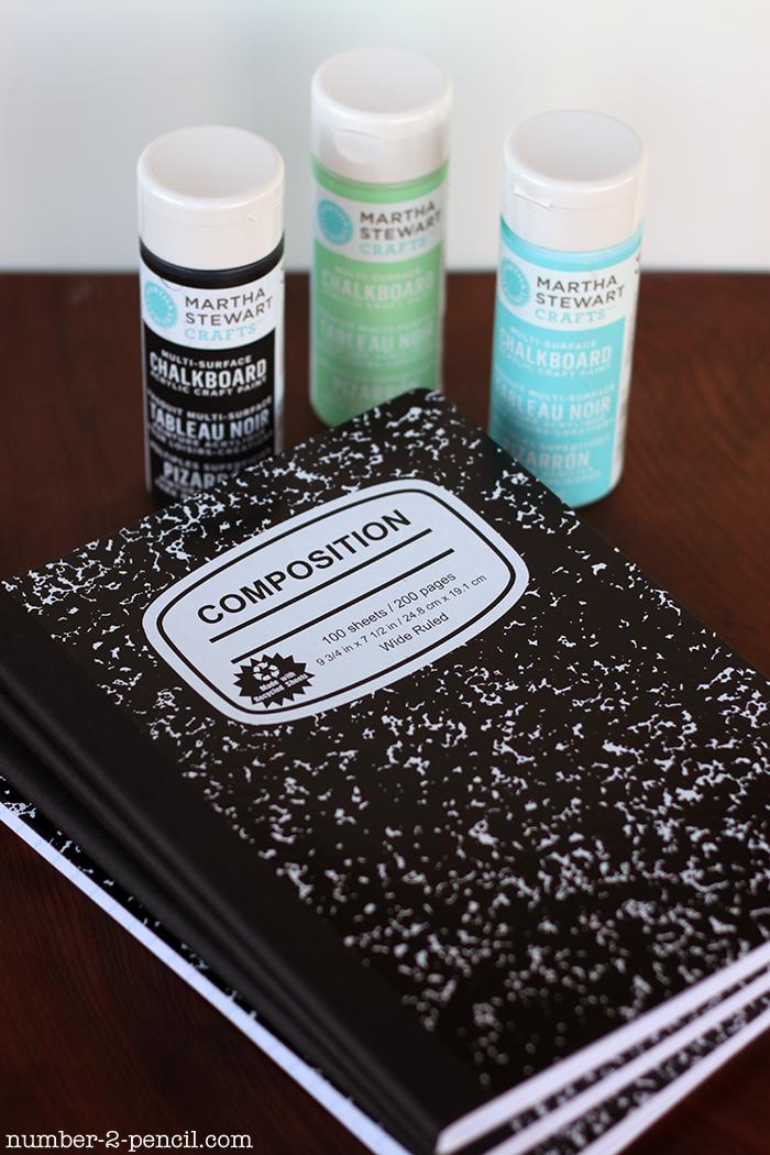 Chalkboard Journals