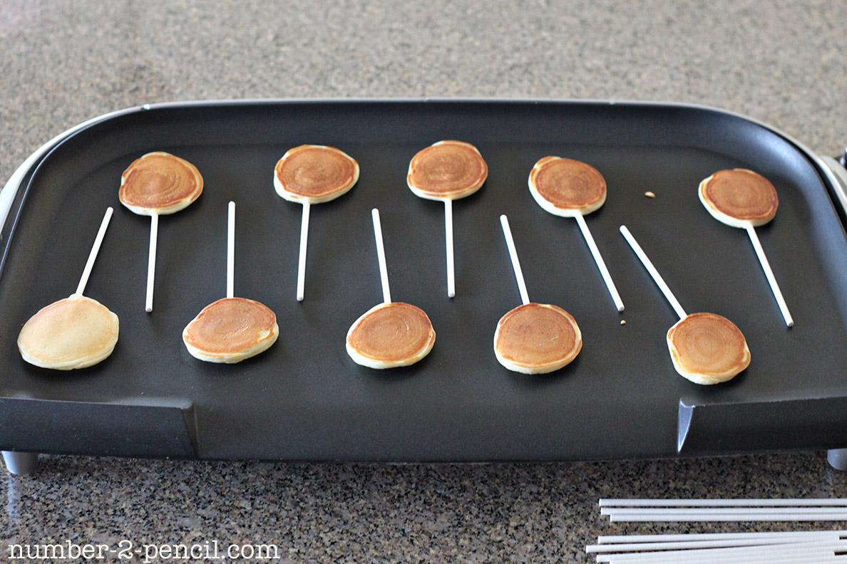 Pancake Batter Cake Pops