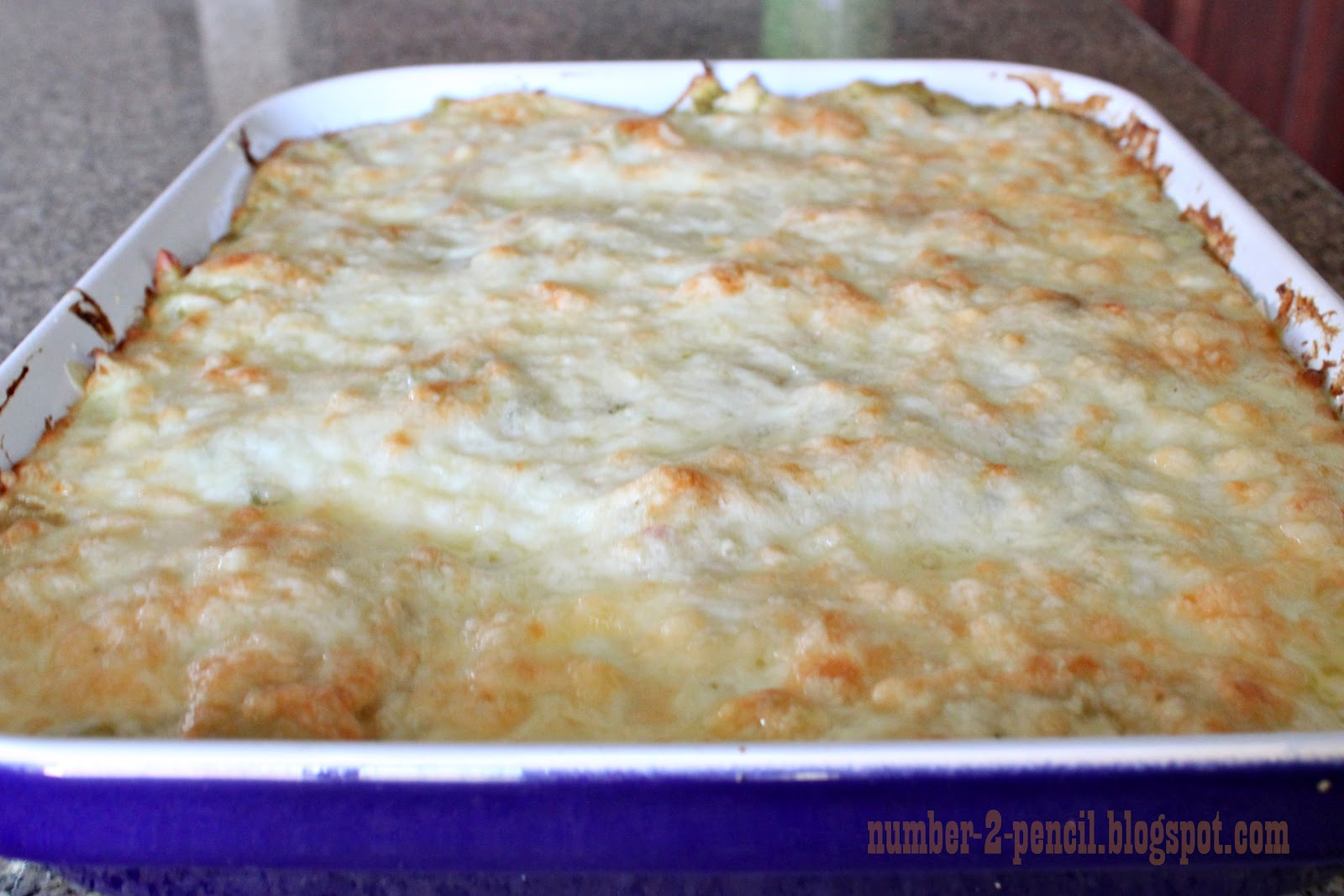 Easy Sour Cream And Chicken Enchilada Casserole