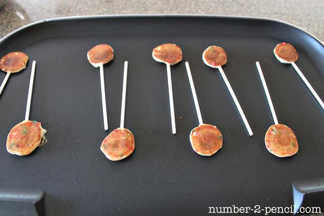 Cake Batter Pancake Pops