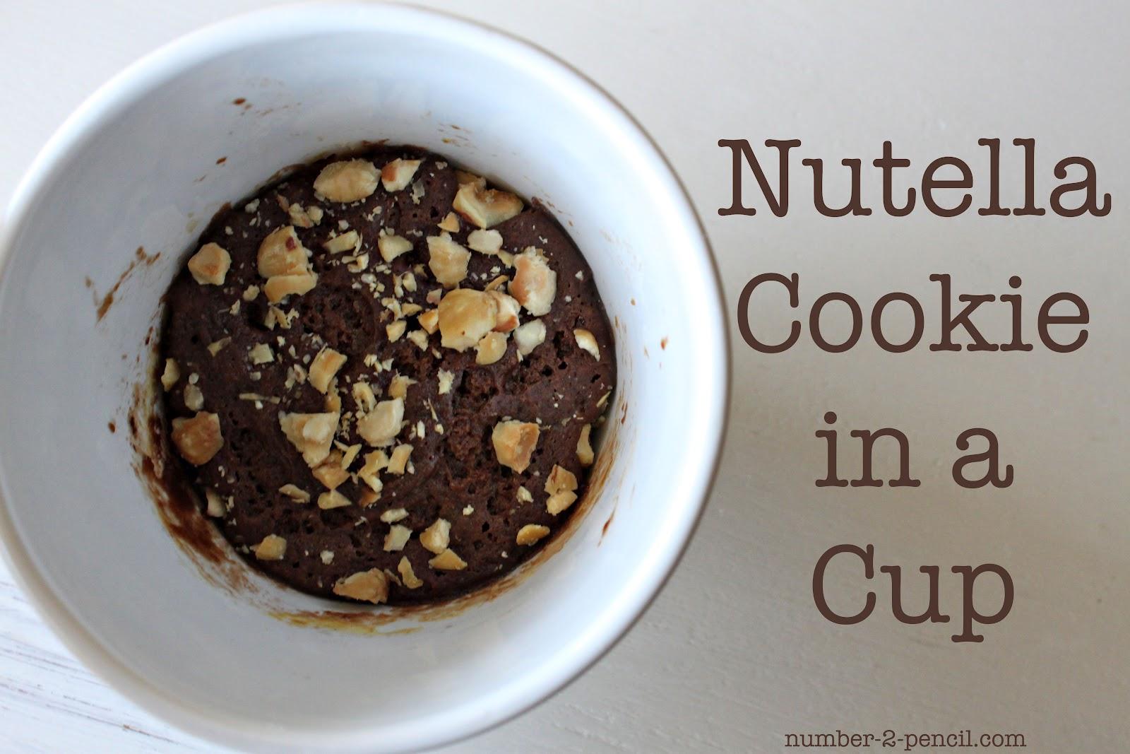 Nutella A Cup In No2 Pencil Cookie SzpGUMqV