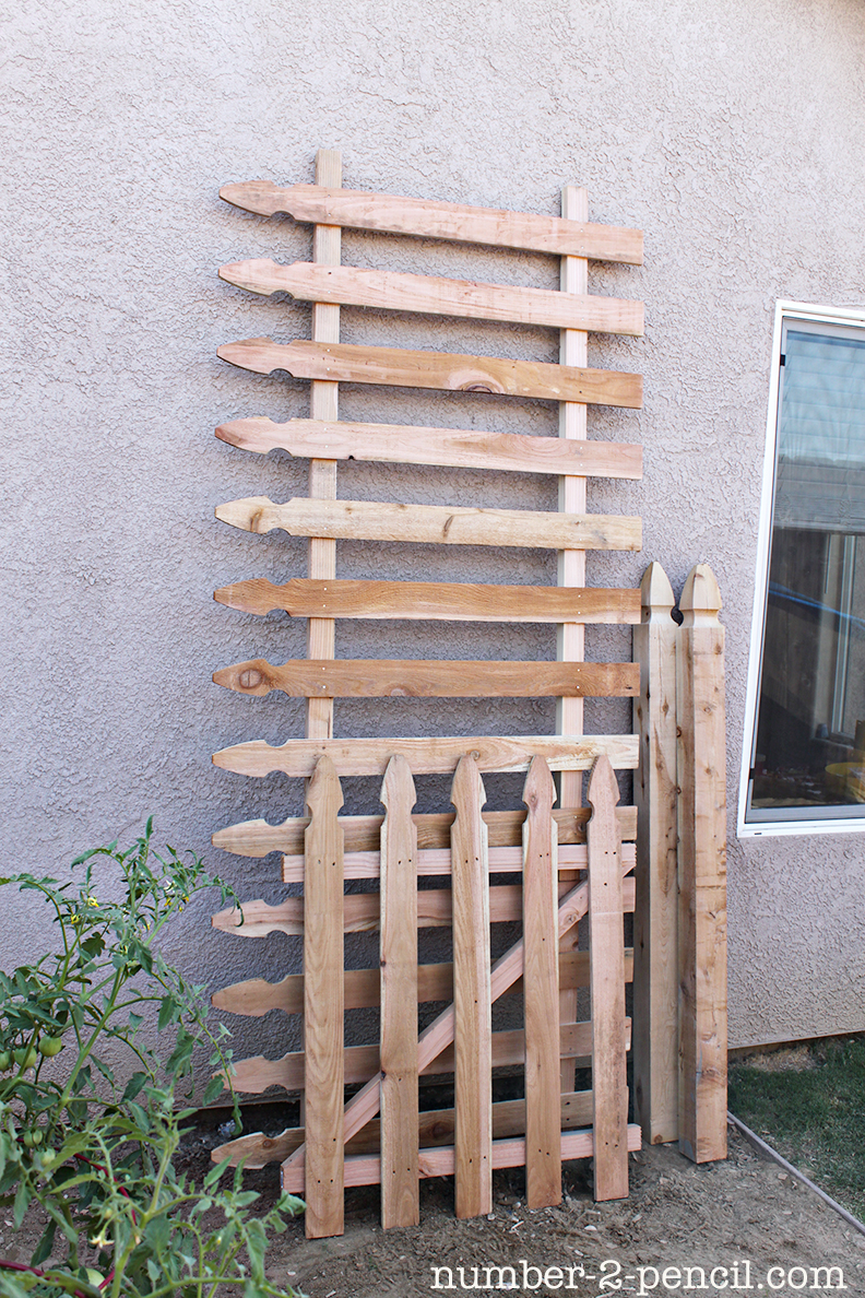 build an easy diy garden fence no 2 pencil